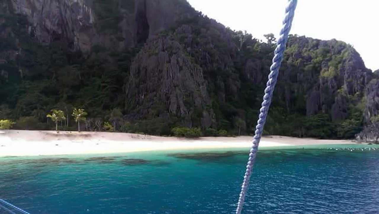 Black Island Coron Busuanga Island Hopping Palawan