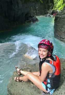 Canyoneering Kawasan Wasserfälle Cebu