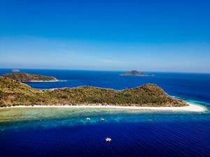 Schönste Insel Palawan Philippinen