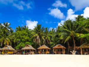 Strand auf Guyam Island, Siargao