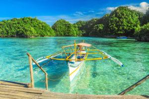Bucas Grande, Siargao, Inselhüpfen mit Boot