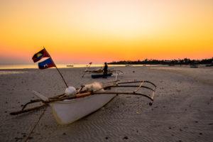 Sonnenuntergang Strand Malapascua