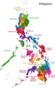 Landkarte der Philippinen