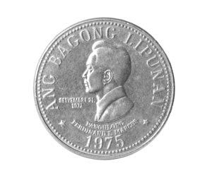 Ferdinand Marcos Münze