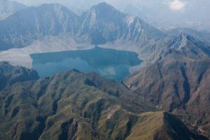 Kratersee des Mt. Pinatobu