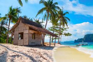 Haus am Strand Palawan Urlaub Coron