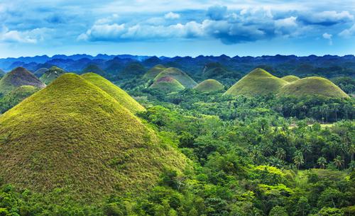 Bohol Philippinen Chocolate hills