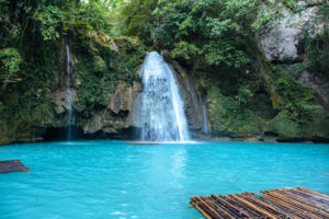 Kawasan Wasserfälle, Cebu Philippinen