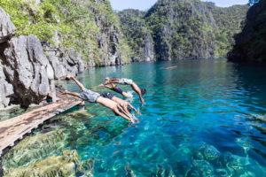Kayangan See Coron Philippinen