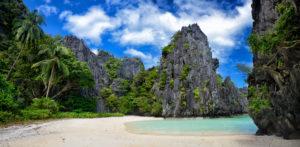 Secret Lagoon palawan Philippinen