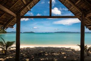 Strand, Blick aufs Meer, Insel Cebu