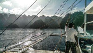 Boot nach Coron