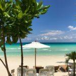 Boracay Blick aufs Meer
