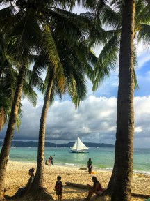 Boracay White Beach 11. April 2018